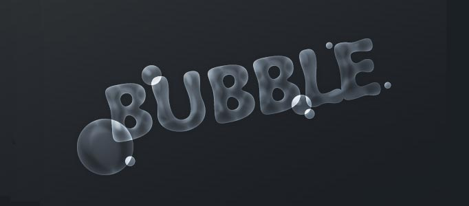 Special Bubble Text Creation