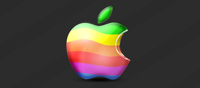 Amazing Colorful Design for Mac Logo