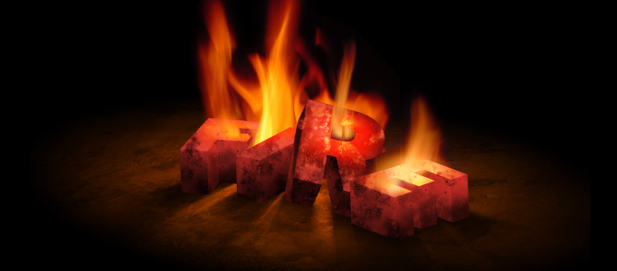 Awesome Fire Effect for 3D Text