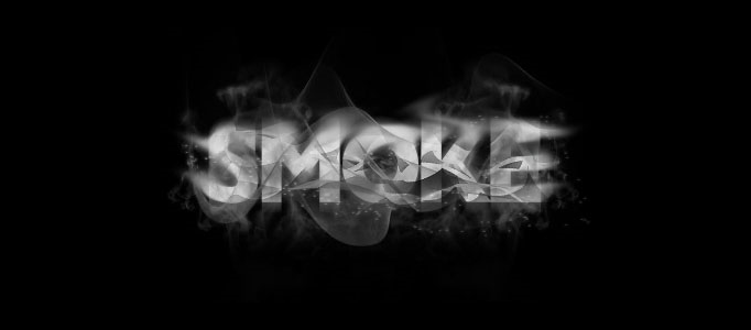 Create Awesome Smoky Typography