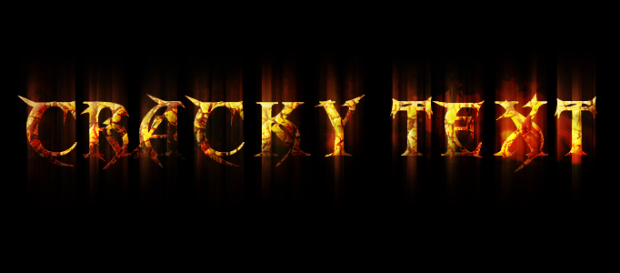 Create a Diablo III Inspired Grungy Text Effect