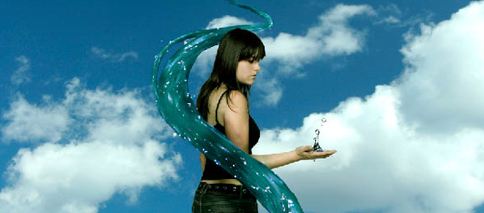 Create a Surreal Photo Manipulation with Twisting Water