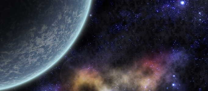 Create an Amazing Space and Planet Scene