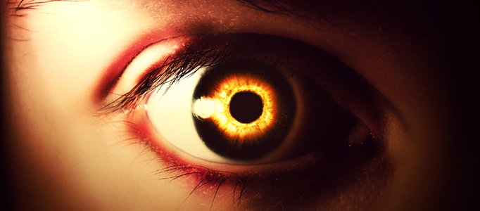 Eery-Eye Photo Manipulation