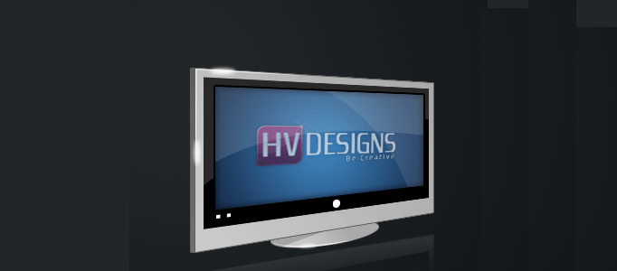 How to Design a Nice LG LCD Monitor Icon