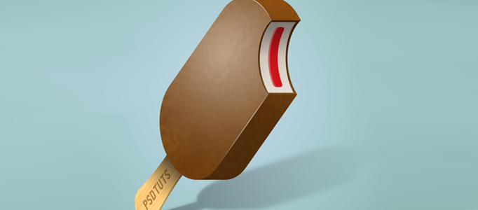 How to Draw a Nice 3D Delicious Ice Cream Bar