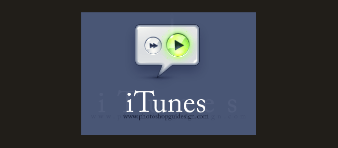 How to make iTunes button