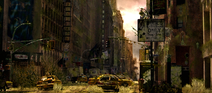 How to Create a Post-Apocalyptic City in Photoshop