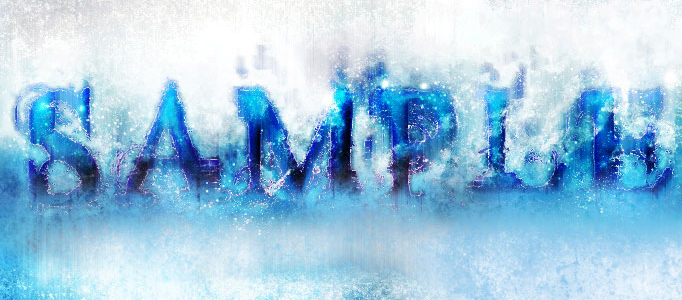Create a Great Blue Style Text in Photoshop Tutorial