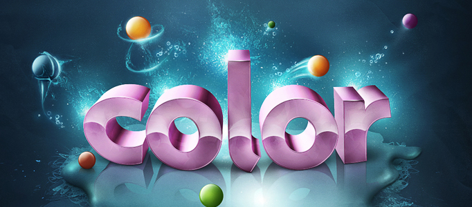 Create an Amazingly 3D Colorful Text Effect in Photoshop