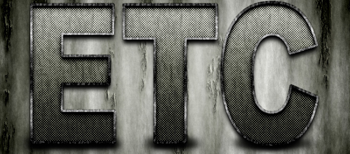 Super Grungy Metallic Text Effect in Photoshop
