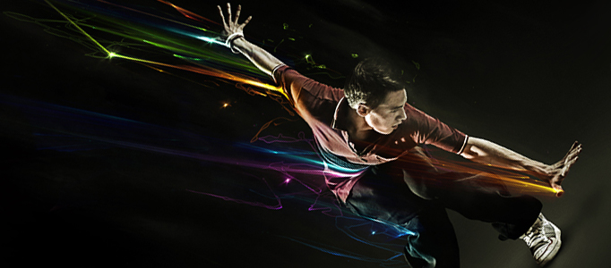 Design Awesomely Colorful Sparkling Effect in Photoshop