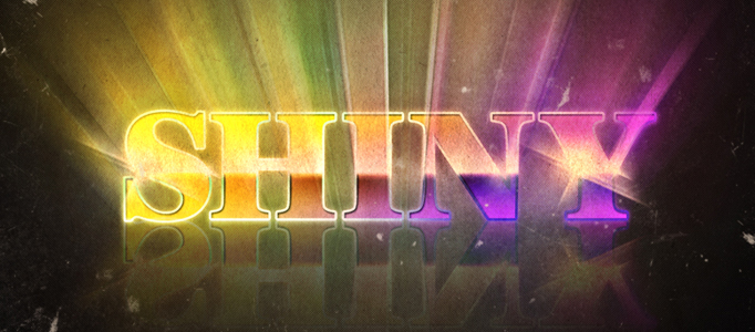Dramatic Retro Text Effect in Photoshop