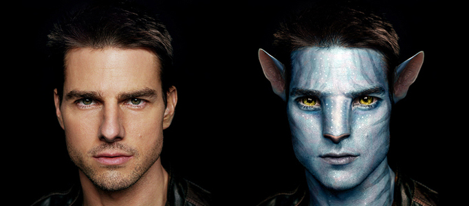Awesome Avatar Transformation using Photoshop