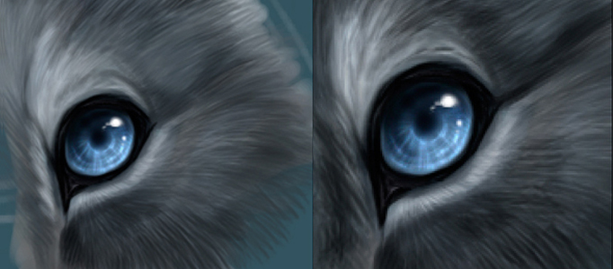 Awesome Cartoon Eyes Creation using Photoshop