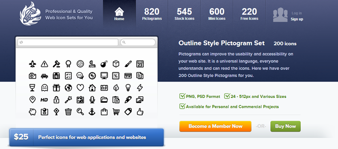 Free Quality Web Icons for Web Designers and Developers