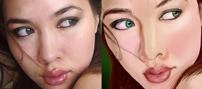 Portrait Transformation to a Realistic Painting