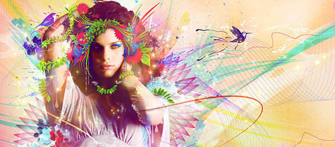Develop a Great Colorful Image Poster in Photoshop
