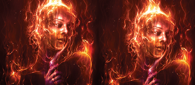 Apply a Dramatic Fire Effect to your Image
