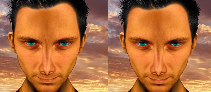 Redevelop a Human Face using Photoshop