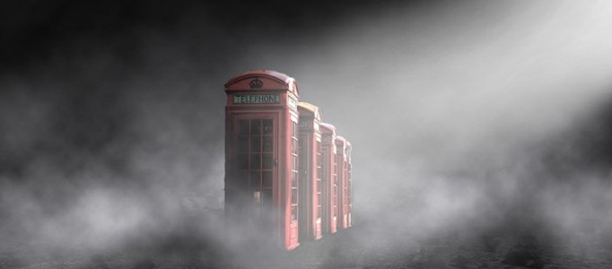 Create a Mysterious Foggy Scenery for an Image