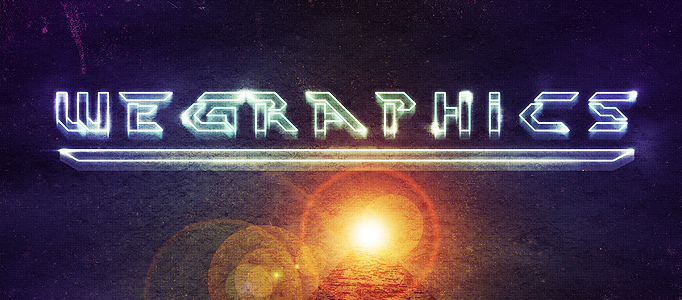 Create a Nice Laser Text Effect