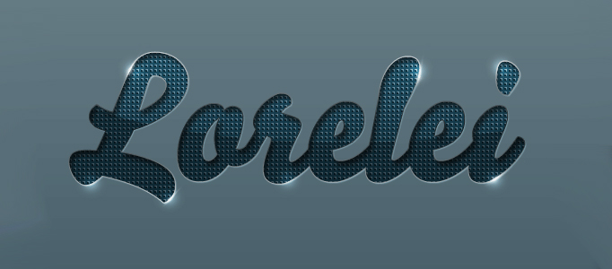 Design a Nice Shining Text Effect - Photoshop Lady