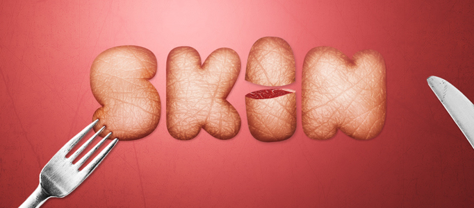 Design a Wonderfully Human Skinned Text Effect