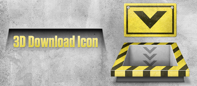 Develop a Nice Machinery Downloading Icon