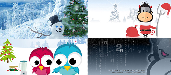 50 Christmas Templates, Icons, Brushes and Illustrations