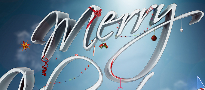 Create a Fantastically Festival 3D Text Effect