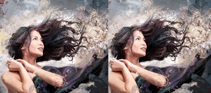 Turn a Photo into a Dramatic Oil Painting