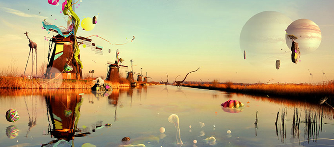 Photo Manipulation – Surreal Bubbles