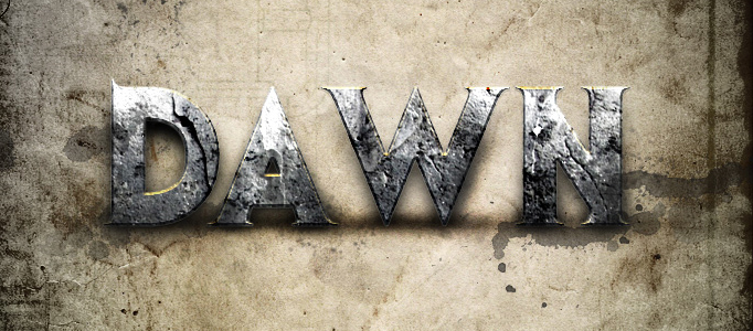 Create a Fabulously Traditional Text Effect