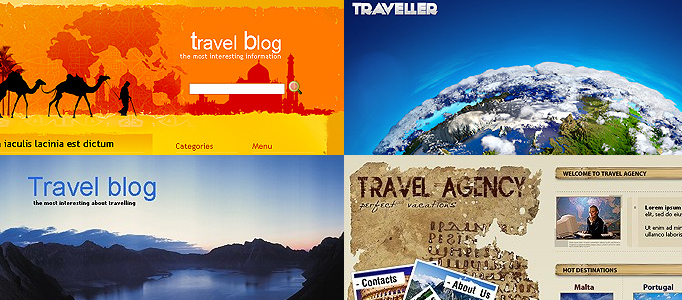 Awesome Showcase of Tourism Templates