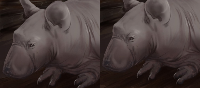 Advance Painting Techniques for an Animal
