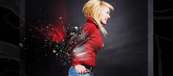 Shattering Photo Manipulation in Photoshop
