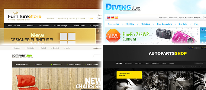Magento Showcase, Themes and Tutorials for Online Store