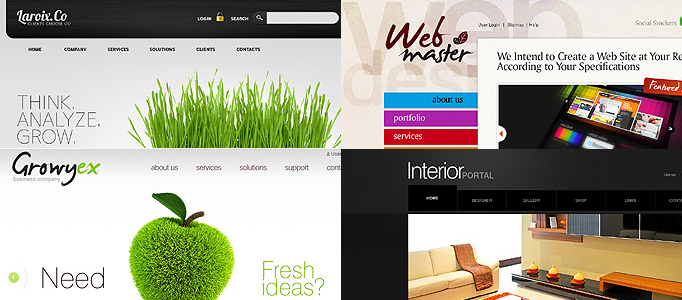20 Fresh and Awesome Premium Drupal Templates