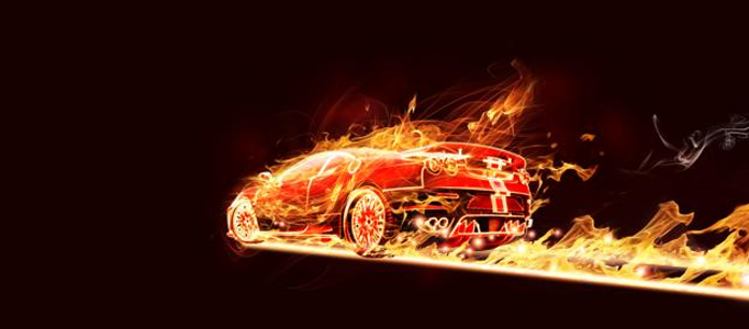 Create a Super Fire Effect for a Car