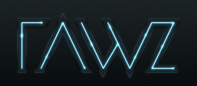 Create a Dramatic Tron Lighting Text Effect
