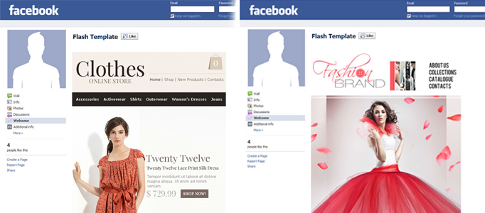 Facebook Templates for Your Inspiration