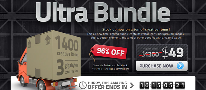 Ultra Bundle $1,300 Design Goodies for $49