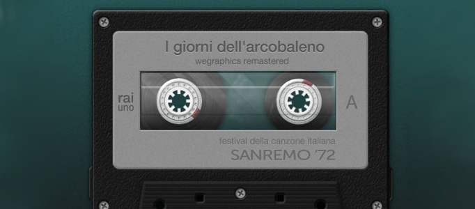 How to Create A Detailed Cassette Tape in Photoshop
