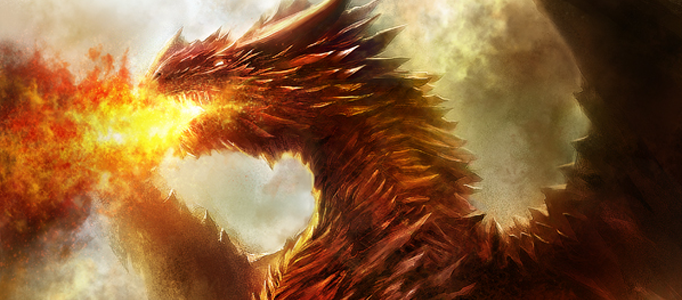 Design an Amazing Fire Dragon using Photoshop