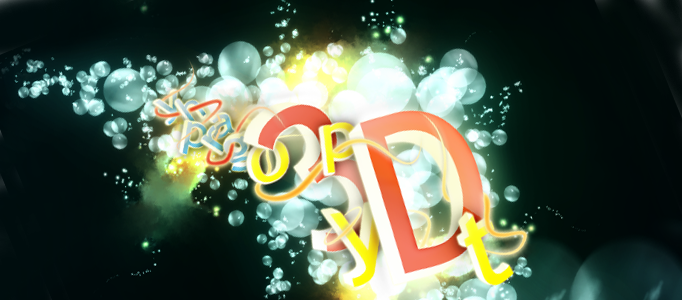 Design an Amazing Bubble Text Art in Photoshop