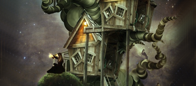 Develop a Magic Tree House in Photoshop
