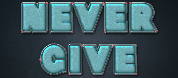 Style Shining Text Effect Creation