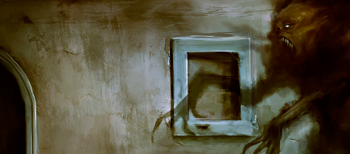 Painting a Nice Ghost Art in Photoshop