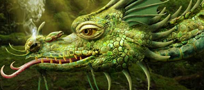 Making of a Realistic Dragon